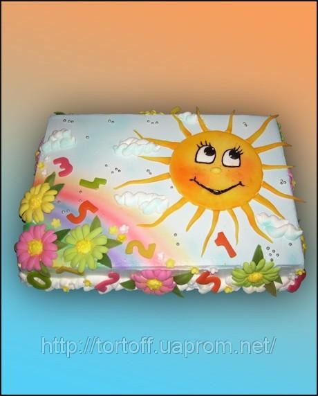 Торт солнце фото