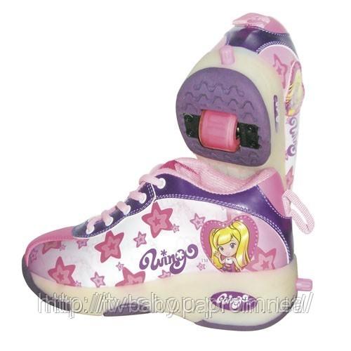 Роликовые кроссовки Wingo ONE STARS для девочек.