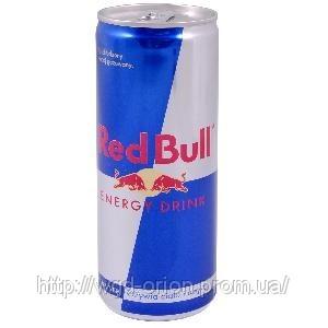 Напиток энергетический Ред Бул 0,25 л.