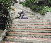 Системи сніготанення на сходах, Системы «теплый пол»
