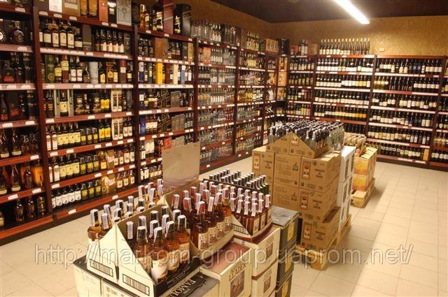 ...специализированный магазин вина и крепких алкогольных напитков!