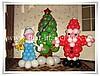 Продажа : Воздушные шары на Новый год Киев, Елка, Дед Мороз, Снегурочка...