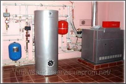 ...монтаж отопления системы Галан для загородного дома, дачи, коттеджа.