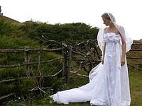 Переходов.  Одежда, часы, сумки - Свадебные платья и аксессуары.  Просмотров.