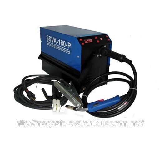 Сварочный полуавтомат инверторного типа SSVA 180 P предназначен для полуавтоматической сварки стальной и порошковой...
