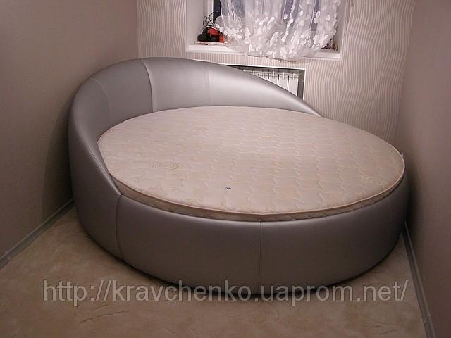 Круглая кровать не требующая матраса.  Описание: магазин мебель кровать...