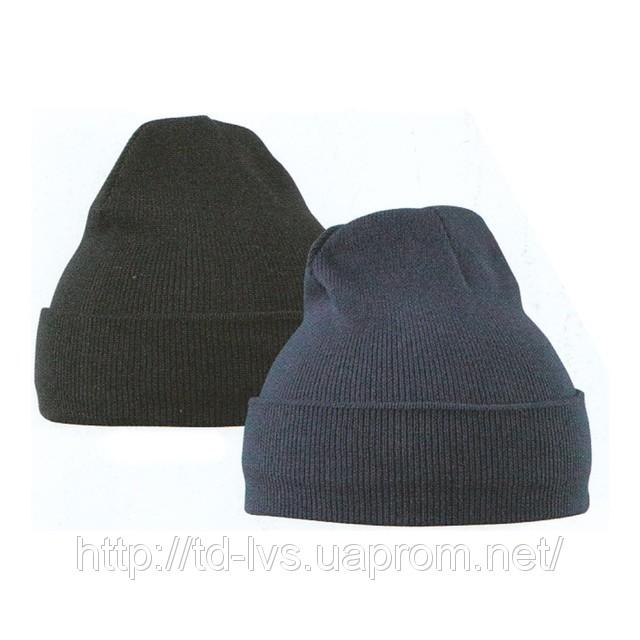 вязаная шапка ушанка женская. вязание.