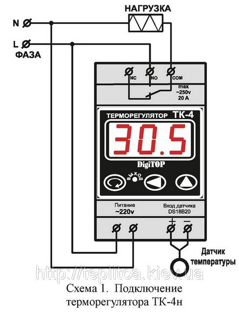 терморегуляторы digitop.