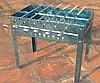 как сделать раскладной мангал: садовый мангал из кирпича.