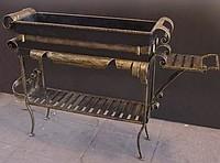 кованые мангалы и изделия для камина.