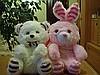 Рюкзачки Медведь - Заяц.Размер - 38х28см.Цена 60грн