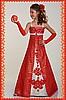 """Красное платье одежда  """" платья 2011 + 20."""