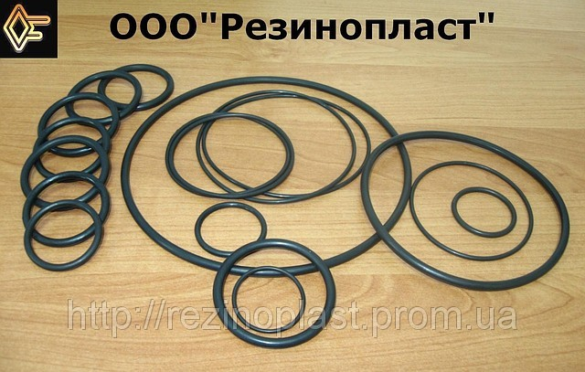 Кольца уплотнительные резиновые (круглого и не круглого сечения).