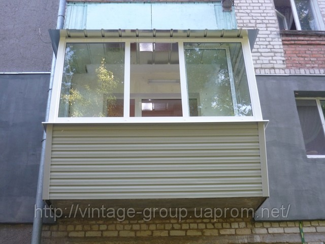 Ремонт балкона, реконструкция в Харьков - Харків - фото балконов под ключ.