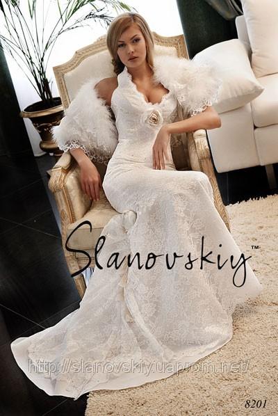 Свадебные платья женские.
