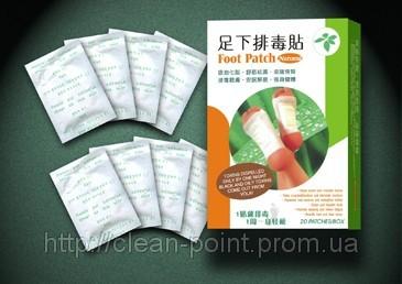 Китайский пластырь на стопы для выведения токсинов