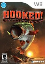Hooked real motion fishing